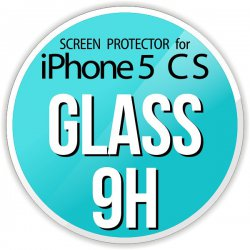 Szkło ochronne screen protector GLASS 9H do Apple iPhone 5